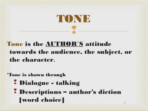 exle of tone mood and tone