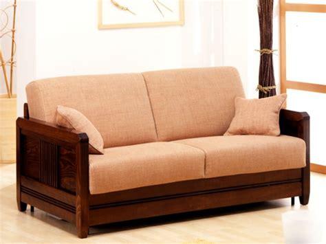 divani con struttura in legno divano ulisse 3 posti letto divani linea legno
