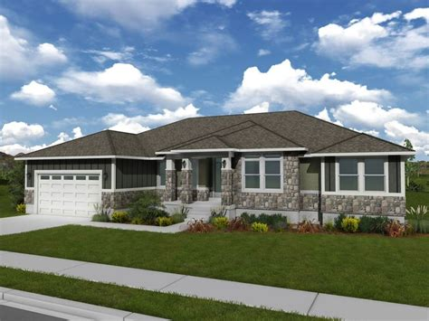 rambler style homes olivia rambler style floor plan edge homes dream