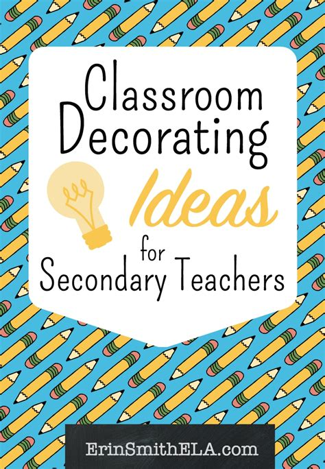 ideas for classroom classroom decorating ideas for secondary teachers erin