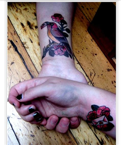 matching bird tattoos 41 awesome matching wrist tattoos designs