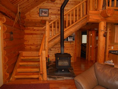 Log Cabin Stairs by The World S Catalog Of Ideas
