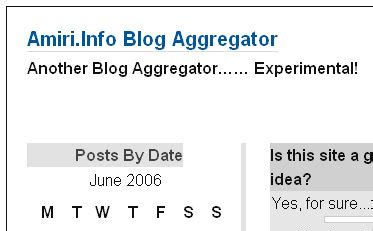 blog aggregators uae community blog yet another rss aggregator