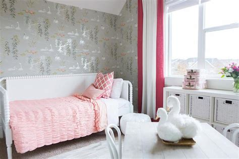 pink and grey toddler room pink and red girls bedrooms transitional girl s room