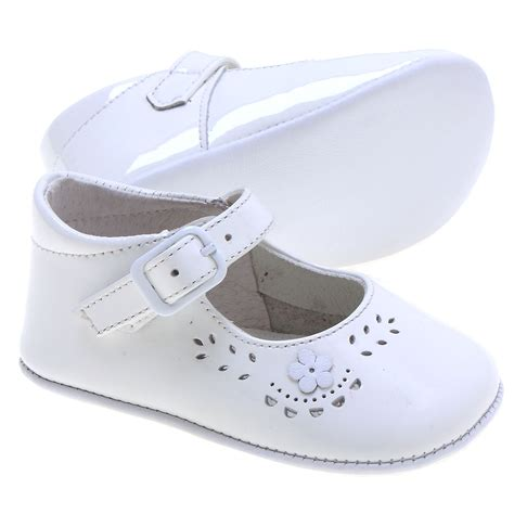 baby pram shoes baby white patent pram shoes cachet