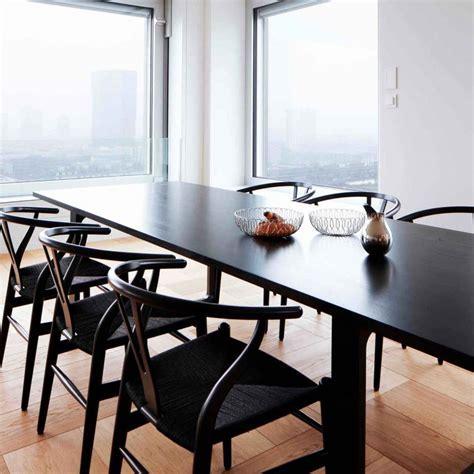 CH24 Wishbone Chair   Black Edition