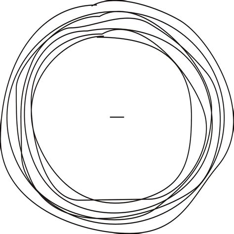 how to draw circle doodle line drawing circle clipart best