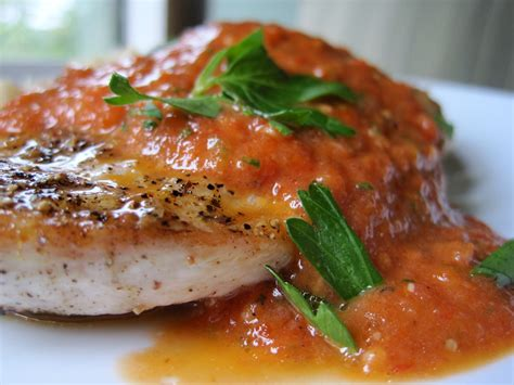 prime selection s cooking ideas halibut with tomato