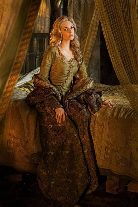 film fantasy medieval queen guinevere as played by tamsin egerton in starz s tv