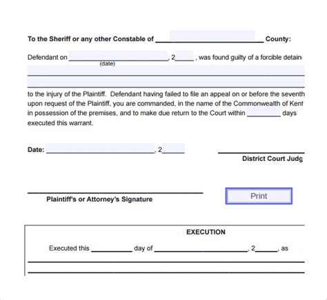 free notice forms sle eviction notice form 6 free documents