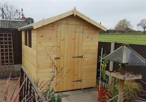 Erecting A Garden Shed by Agustus 2016 Free Shed