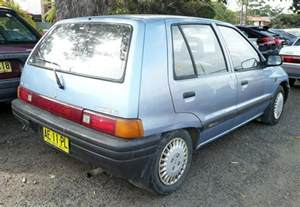 Daihatsu Hatchback 1991 Daihatsu Charade Sedan Sg Related Infomation