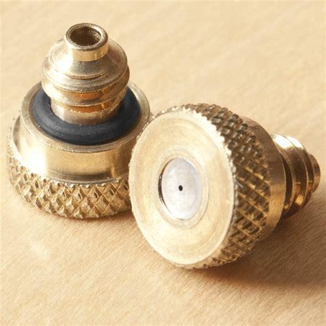 Connical Nozzle Mb 24 Ukuran 12 5 Mm Abicor Binzel 5 pack mister misting nozzles 0 012 quot 0 3mm orifice black o ring 12 24 thread ebay