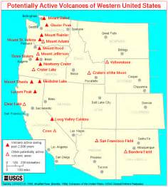 california volcanoes map new volcano observatory opens in california observing a