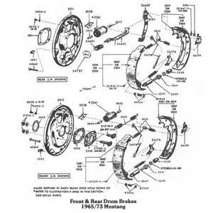 Rear Brake System Diagram Front Rear Brake Diagrams One And His Mustang