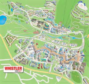 map of canada whistler whistler creekside activities and directions maps