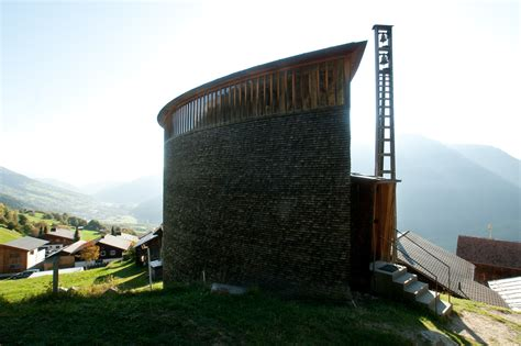 Alpine Architecture ad classics saint benedict chapel peter zumthor archdaily