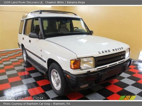 1998 land rover discovery interior chawton white 1998 land rover discovery le bahama