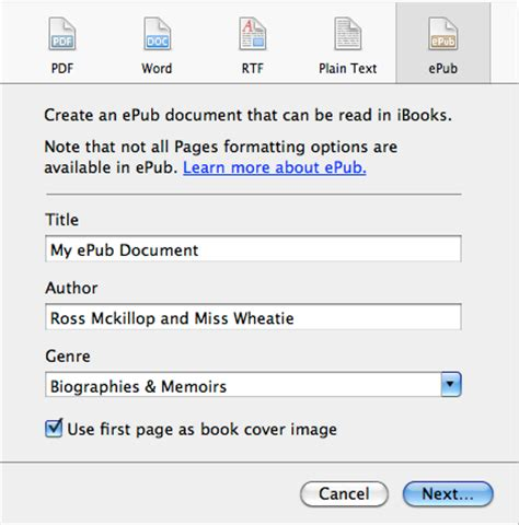 ebook format file name the www blog save apple pages documents in epub files
