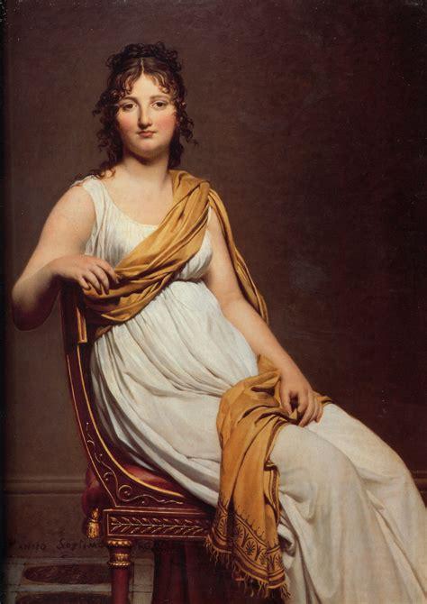 Artistic L by Portrait Of Madame Raymond De Verninac Jacques Louis