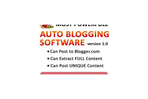 auto blogging software download