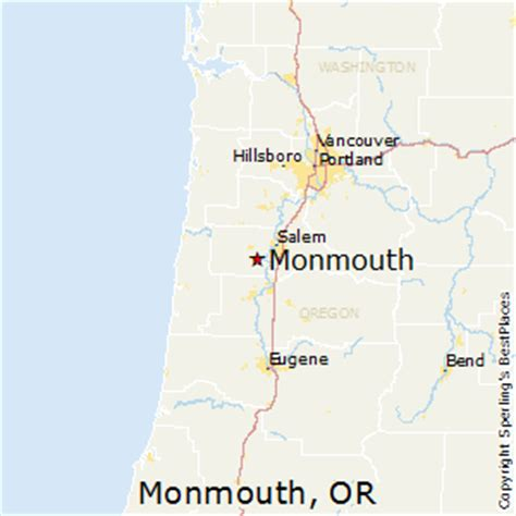 best places to live in monmouth, oregon