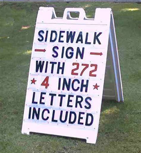 a frame folding and sidewalk signs folding sidewalk sign outdoorletters