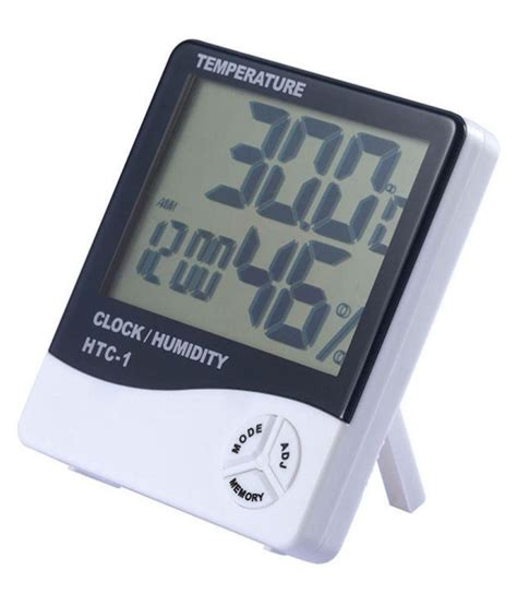 Thermometer Hygrometer Digital digital hygrometer thermometer clock htc 1 price at