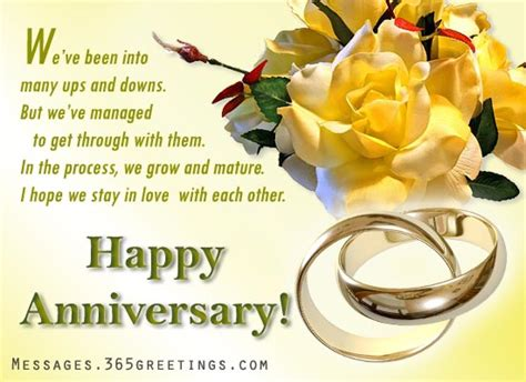 Wedding Anniversary Quotes Ups And Downs by Anniversary Messages For Boyfriend 365greetings