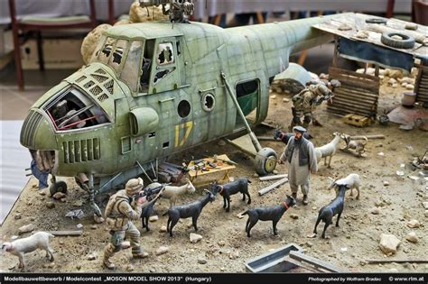 17 best images about diorama model trains on pinterest mil mi 4 1 35 scale model diorama plastic model aircraft
