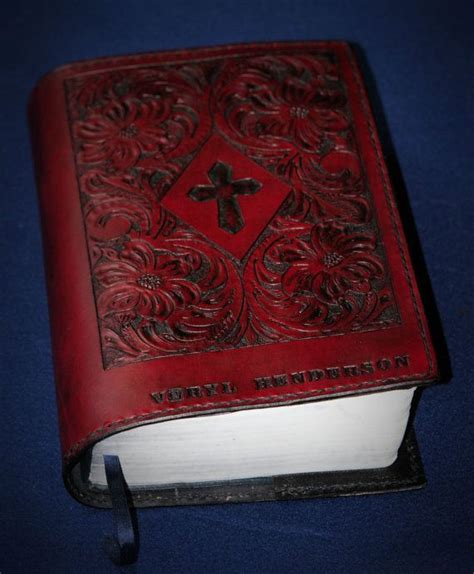 Handmade Bible Covers - 14 best images about custom leather bible covers on