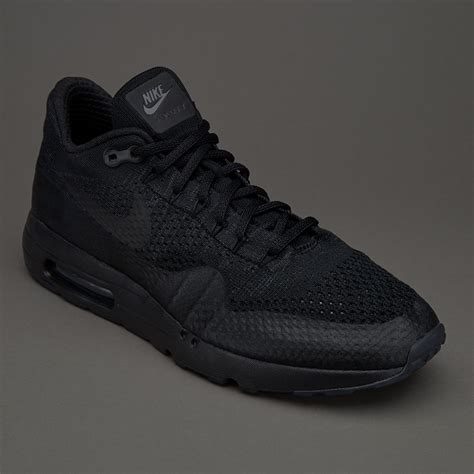Nike Air Max 1 Ultra Flyknit Black mens shoes nike sportswear air max 1 ultra flyknit black anthracite shoes 141083 cheap