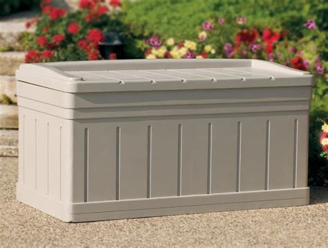 extra wide storage bench extra large outdoor storage bench w removable storage tray