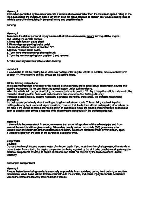 download car manuals pdf free 1997 mercedes benz c class parking system 1995 2000 mercedes benz c230 c280 c36 amg c43 amg w202 owners manual