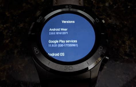 themes for android wear android wear 2 8 update appears to introduce all black