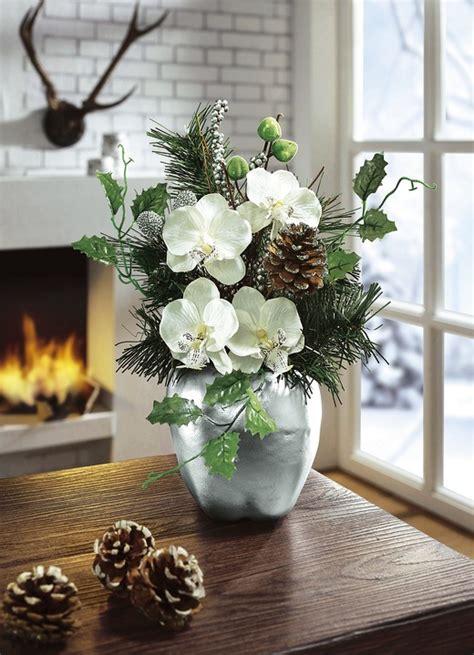 orchideen im schlafzimmer orchideen gesteck im apfeltopf weihnachten brigitte