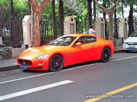 maserati china maserati granturismo spotted in shanghai china on 08 26 2014