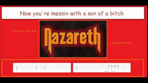 nazareth hair of the lyrics nazareth quot hair of the quot lyrics and chords