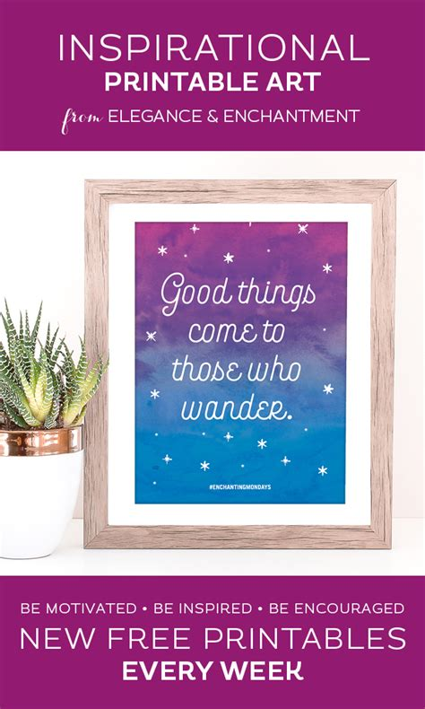 march inspiration good things to come free printable printable inspirational quote good things come to those