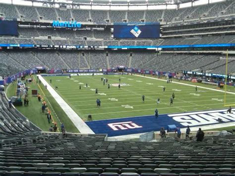 what is section 35 metlife stadium section 129 giants jets rateyourseats com