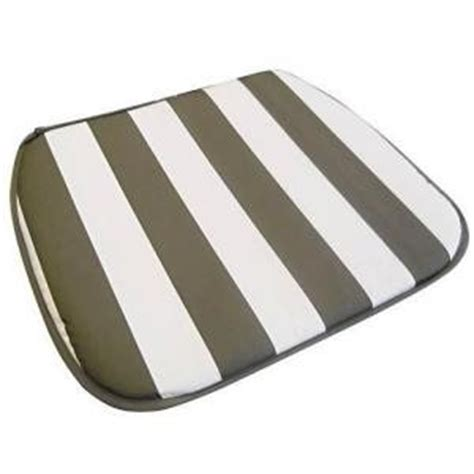 Plastic Chair Cushion Covers by Plastic Resin Patio Chair Seat Cushions Pads Pack Of 6 Ebay