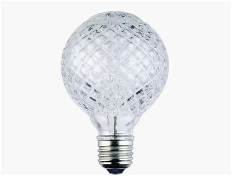 cut glass light bulb design cents cut glass bulbs that won t the bank