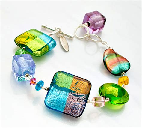 glass jewellery designs primavera bracelet contemporary glass jewelry