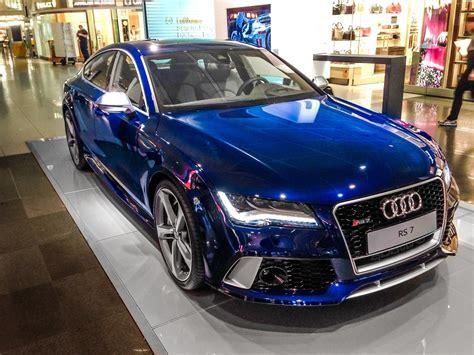 Audi Rs7 Convertible by Audi A4 Convertible Blue Autogas Einbau Umrstung In