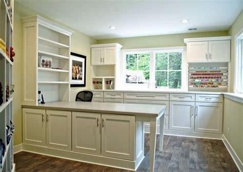 image result for kitchen cabinets used in craft room
