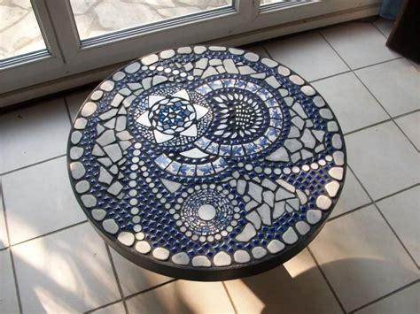 Table Basse Mosaique by Table Basse Mosa 239 Que Bleue Photo 1 Cr 233 Ation Mosa 239 Que De