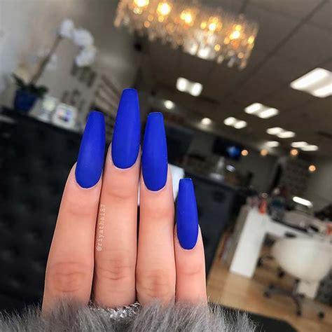 chic blue nail designs      asap
