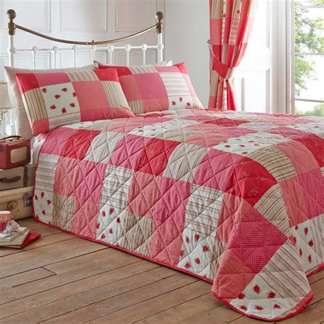 Patchwork Bedding And Curtains - dreams n drapes patchwork bedspread ebay