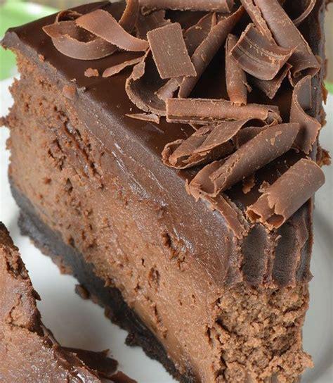 Rte Chococrust Oreo chocolate cheesecake with oreo crust eat more chocolate eat more chocolate