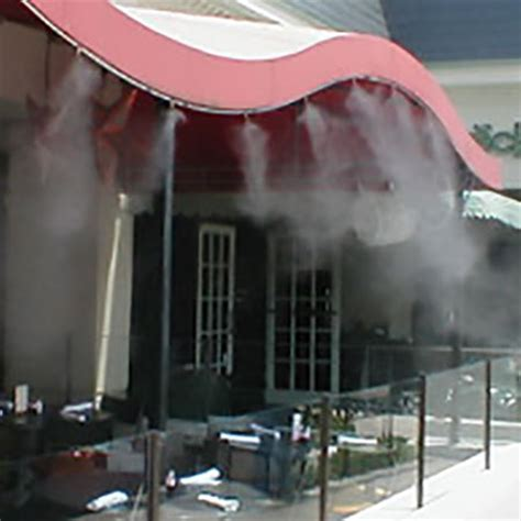 high pressure patio misting system misting systems misting fans by leading us manufacturer